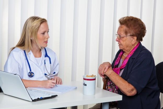 senior physician at
